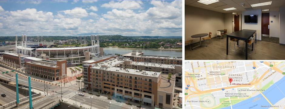 Cincinnati Ohio shared work space