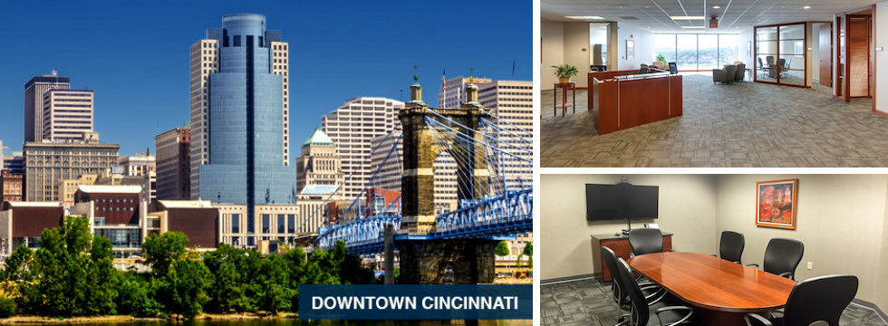 Downtown Cincinnati Office Space