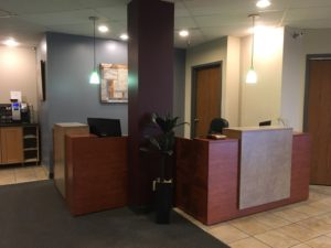 office reception areas. renovated reception areas at officekey