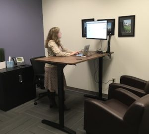 Office Renovations -Standing Desks