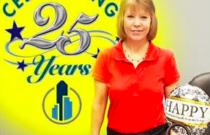Celebrating Angela's 25th Anniversary